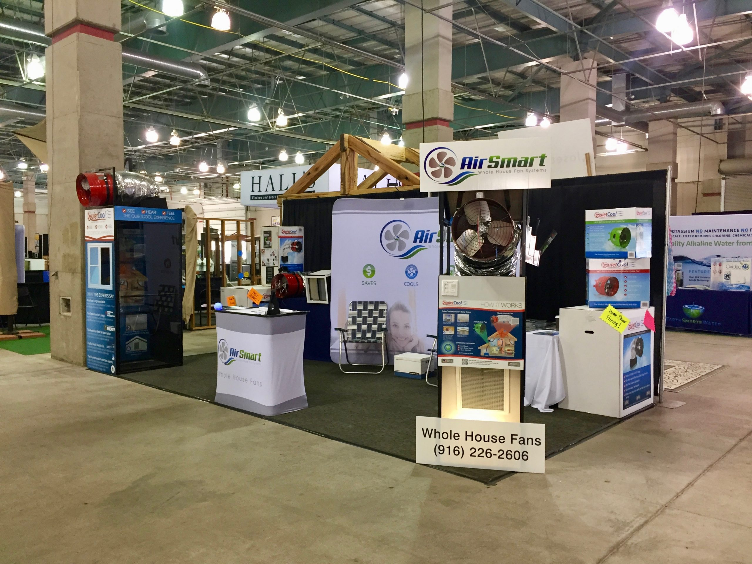 Visit AirSmart at the Sacramento Home & Garden Show